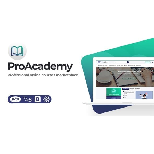 Proacademy 2 - LMS & Live Classes Marketplace Script