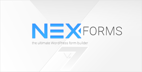 NEX-Forms - The Ultimate WordPress Form Builder Script
