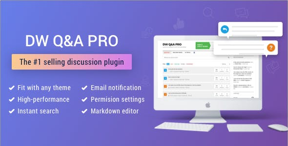 DW Question & Answer Pro - WordPress Plugin Script